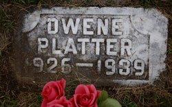 Dwayne Gilbert Platter