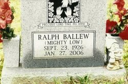 Ralph Mighty Low Ballew