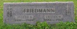 Lillian W <i>Meisenhalter</i> Friedmann