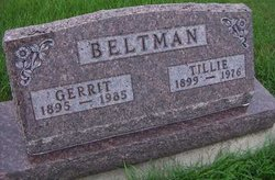 Tillie <i>Evink</i> Beltman
