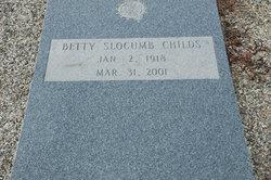 Betty <i>Slocumb</i> Childs