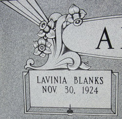 Lavinia <i>Blanks</i> Allen