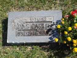 Jane <i>VanSickle</i> Caswell
