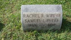 Rachel R. <i>Scott</i> Byers