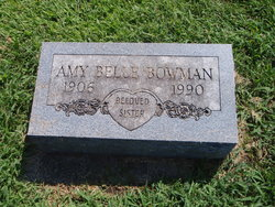 Amy Belle Bowman