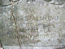 Nannie <i>Almond</i> Walker