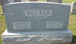 Jeremiah B Becker