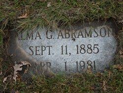 Alma G Abrahamson