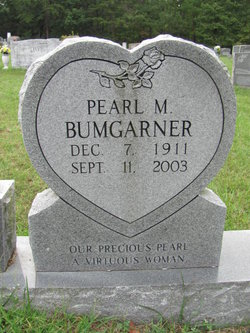 Pearl Mae <i>Mitchell</i> Bumgarner