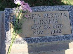 Maria Peralta Lusania