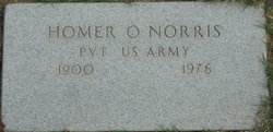 Pvt Homer O Norris