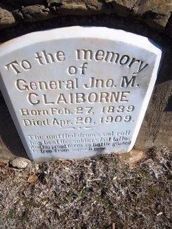 Gen John Marshall Claiborne