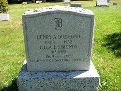 Lilla L <i>Simonds</i> Buemond