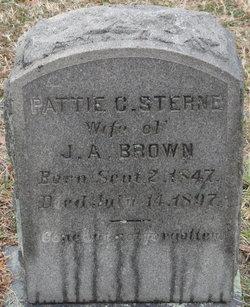 Patti C. <i>Sterne</i> Brown