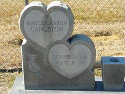 Marcas Aaron Langston