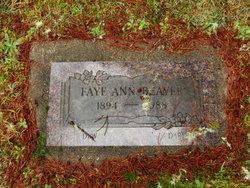Faye Ann Beaver
