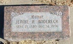 Jennie Pauline <i>Chitwood</i> Andereck