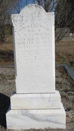 Amanda Elizabeth <i>Reed</i> Ellenburg
