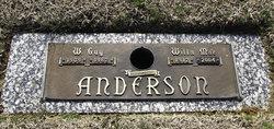 Wilburn Guy Anderson