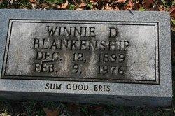 Winnie D. Blankenship