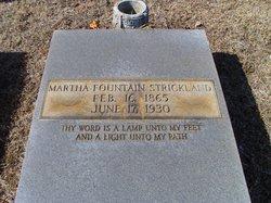 Martha <i>Fountain</i> Strickland
