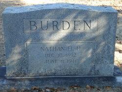 Nathaniel H Burden