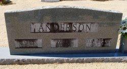 Louella Josephine Ella <i>Chastain</i> Anderson