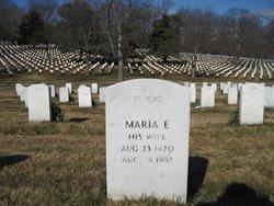Maria E <i>Lee</i> Garrison