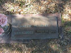 Mattie Slack <i>Downes</i> Blakley