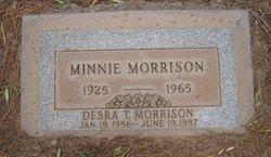 Debra T Morrison