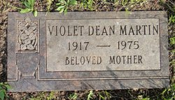 Violet <i>Dean</i> Martin