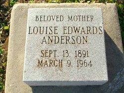 Louise <i>Edwards</i> Anderson