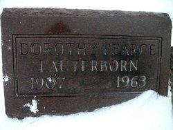 Dorothy <i>Pearce</i> Lauterborn