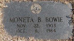 Moneta Bernice <i>Myers</i> Bowie