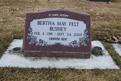 Bertha May <i>Felt</i> Bushey