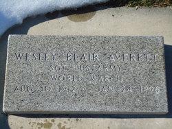 Wesley Blair Averett