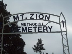 Mount Zion Methodist Episcopal Church Cemetery