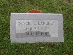 Wincie C. <i>Langdon</i> Capps