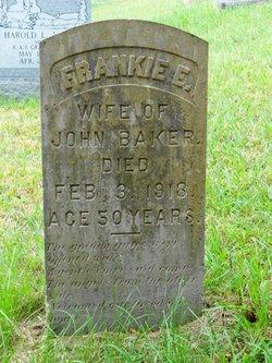 Frankie E <i>Tucker</i> Baker