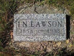 Isaac Newton Lawson