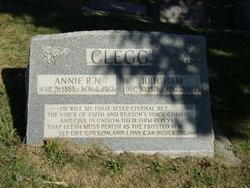 Annie Maria <i>Richards</i> Clegg