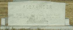 Fred Ross Alexander