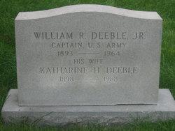 Capt William Riley Deeble, Jr.