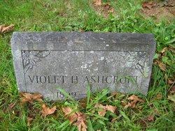 Violet Jennie <i>Harnish</i> Ashcroft