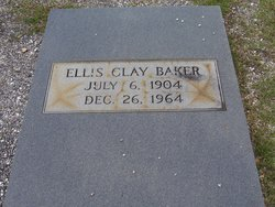 Ellis Clay Baker
