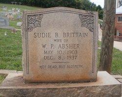 Sudie B. <i>Brittain</i> Absher