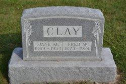 Jane M. Janie <i>Miller</i> Clay