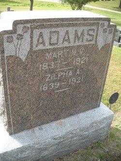 Zilpha Ann <i>Bagley</i> Adams