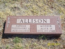 Alice Rebecca <i>Rhea</i> Allison