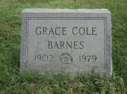 Grace <i>Cole</i> Barnes